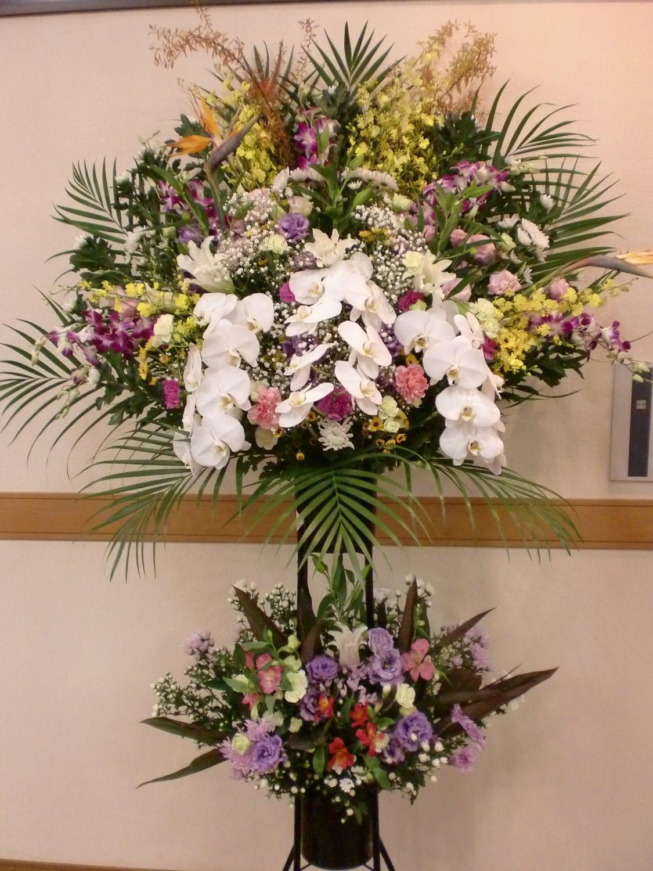 お葬儀用生花スタンド2段A